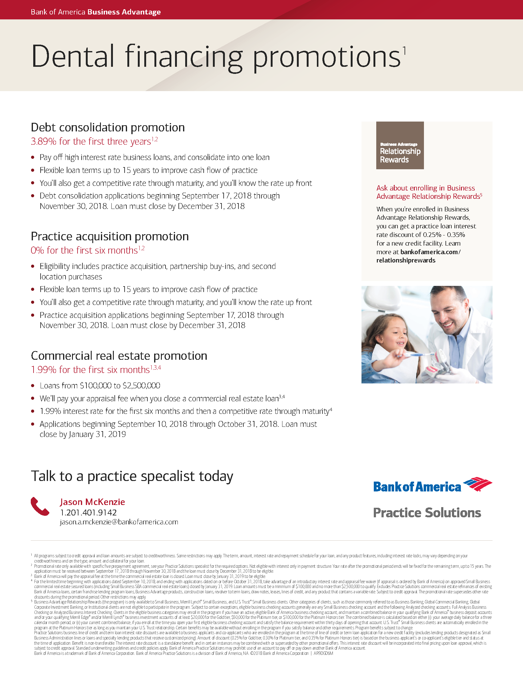 Bank of America PS Promotions